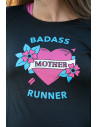 Badass Mother Runner tattoo long-sleeve